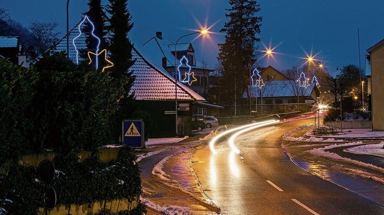 Ärger über Weihnachtsbeleuchtung