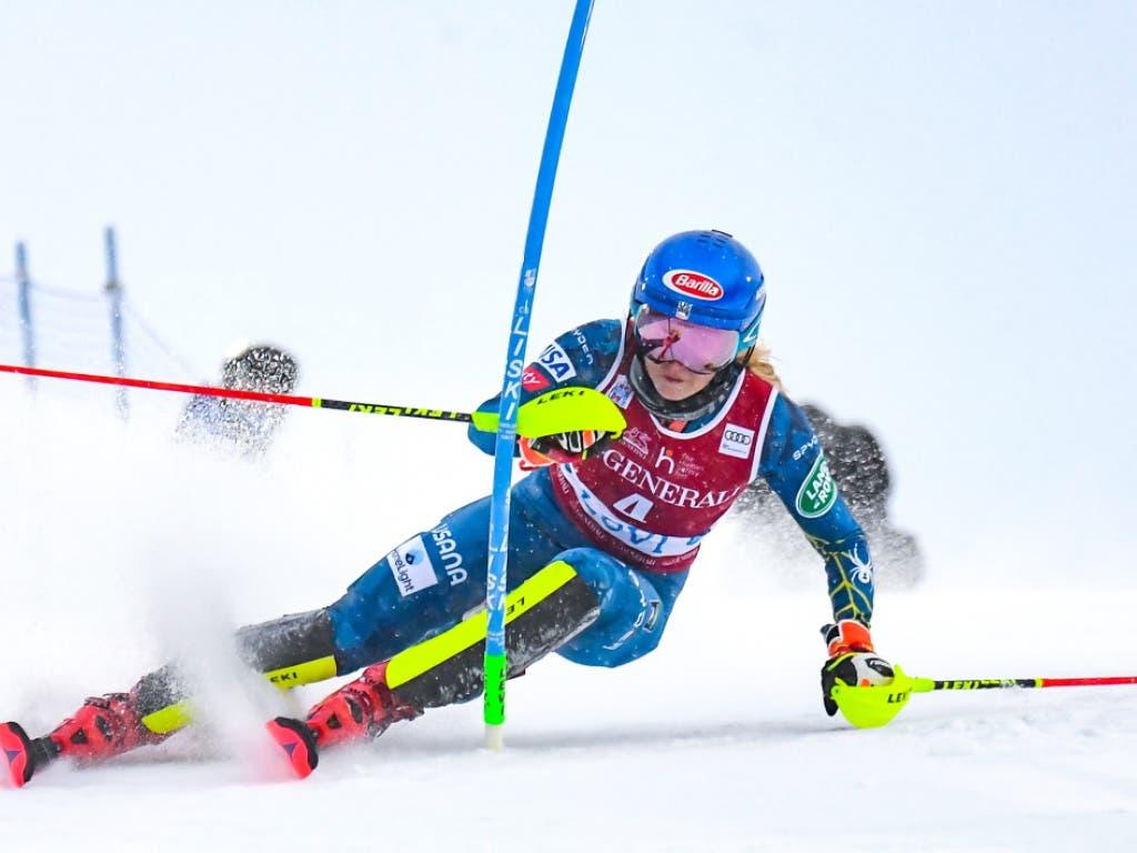 Für Mikaela Shiffrin resultiert ein ungewohnter 5. Platz