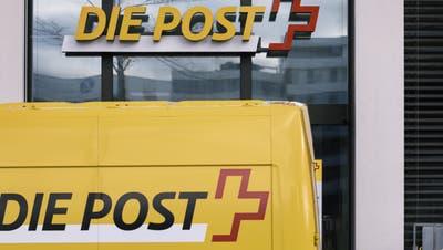 Konzerngewinn der Schweizerischen Post sinkt markant