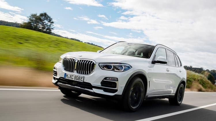 BMW X5 45e xDrive. (Bild: HO)