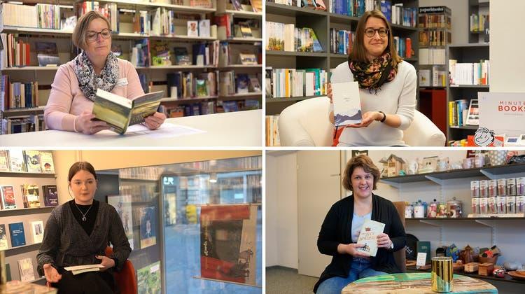 Büchertipps für den Corona-Herbst: Sieben Aargauer Buch-Expertinnen lesen aus ihrem Lieblingswerk