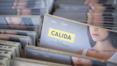 Beim Wäschehersteller Calida wird künftig Timo Schmidt-Eisenhart das Sagen haben. (Symbolbild) (Keystone)