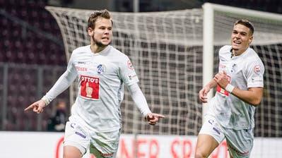 Louis Schaub ist der Mann des Spiels – die FCL-Noten beim 3:1-Auswärtssieg gegen Servette