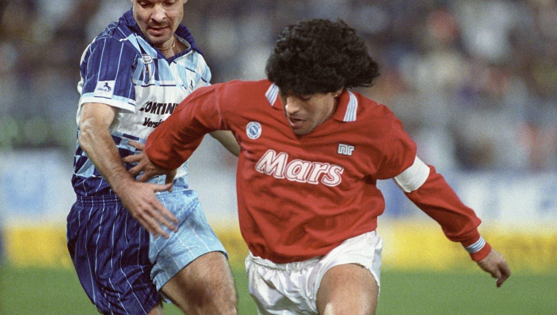 Maradonas Wettinger Manndecker erinnert sich: «Ich dachte, der Trainer ist verrückt!»