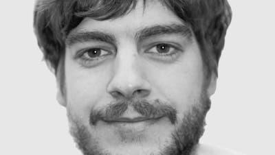 Gianni Amstutz, Redaktor «Wiler Zeitung» (Bild: Hans Suter)