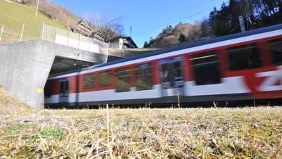 Der Tunneleingang in Engelberg. (Bild: Urs Hanhart (27. November 2020))