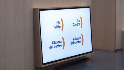 Neuer Name, neues Logo: Die CVP Schweiz wird sich voraussichtlich in «Die Mitte» umtaufen. (Peter Klaunzer / KEYSTONE)