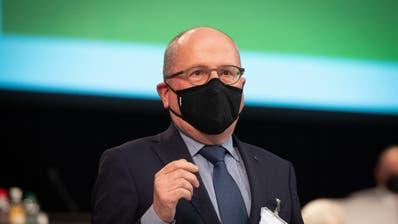 Regierungsrat Fredy Fässler. (Bild: Benjamin Manser)