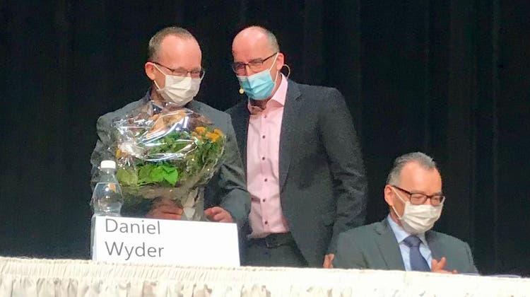 Ein Abschied mit bitterem Nachgeschmack: Daniel Wyder ist nach 26-jährigem öffentlichem Engagement als Schulratspräsident abgewählt worden. (Bild: Andrea Häusler)