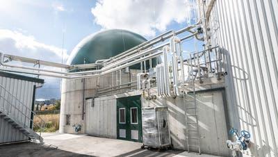 Zweiter Korb für Biogasanlage in Basadingen-Schlattingen