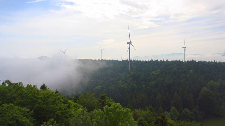Kleinlützel streitet um den Windpark auf dem Chall