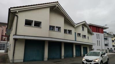 Der alte Werkhof der Gemeinde Buochs an der Bürgerheimstrasse 7. (Bild: Martin Uebelhart (Buochs, 4. November 2020))