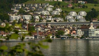 In Hergiswil sind die Preise für Eigenheime so hoch wie nirgends in Nidwalden. (Bild: Urs Hanhart (Hergiswil, 27. Mai 2020))