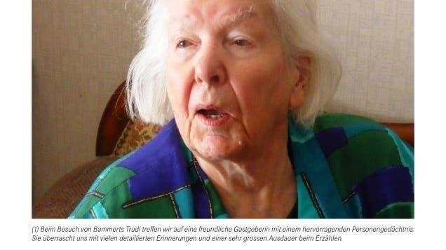 Ein Jahrbuch voller Guldentaler Originale: Eine Geschichte ist der 100-jährigen «Bammert's Trudi» gewidmet
