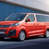 Opel Zafira e-Life (Bild: HO)