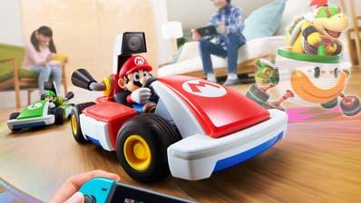 Das neue «Mario Kart Live»auf der Nintendo Switch. (Bild: zvg)