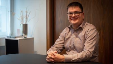 Michael Koller übernahm vor zwei Jahren die von seinem Vater Emil Koller gegründete Werbeagentur koller.team in Appenzell. (Bild: Claudio Weder)