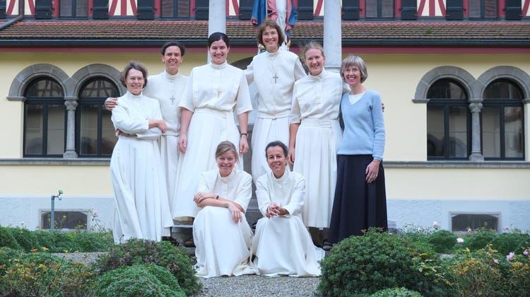 Im Kloster leben neu sieben Schwestern der Familie Mariens und ein Laienmitglied. (Bild: PD)