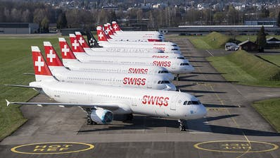 Swiss wegen Coronapandemie in roten Zahlen gelandet