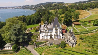 Im Investitionsplan 2021 ist auch die Dachsanierung des Megger Schloss (Bild: PD)