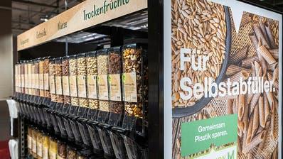 Migros testet Verkauf von Müsli und Teigwaren ohne Verpackung