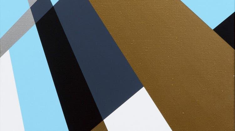 «Die neue Weite» von Rita Ernst. Acryl auf Leinwand, 80x60 Zentimeter von 2017/18. (Zvg)