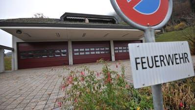 Das Depot der Feuerwehr Obbürgen. (Bild: Urs Hanhart(6. November 2020))