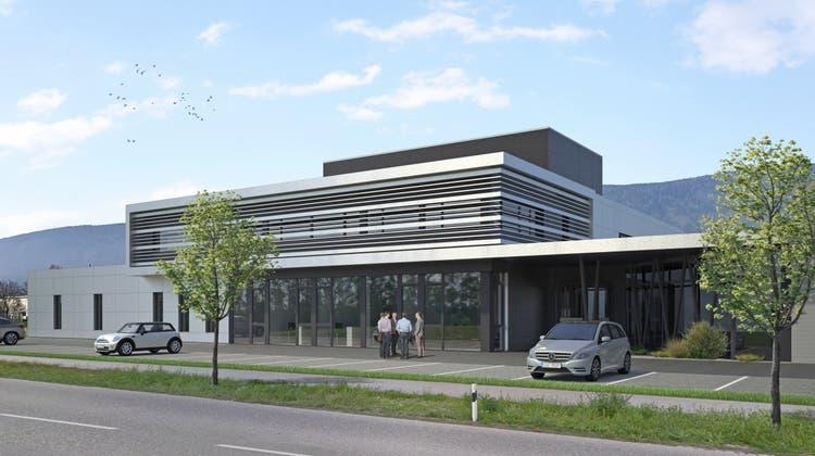Die Firma Thommen Medical startete einen Neubau in der Grenchner Industriezone