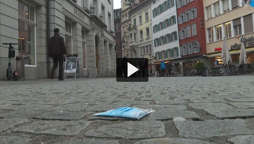 Weggeworfene Schutzmasken werden in der Ostschweiz zum Ärgernis
