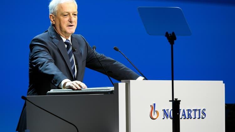 Novartis trennt sich laut Jörg Reinhardt von Herstellern, bei denen der Konzern Unregelmässigkeiten feststellt. (Keystone)
