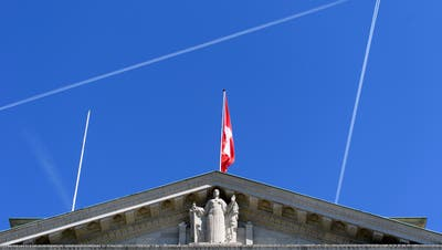 Le batiment du Tribunal Federal, TF, photographie ce jeudi 13 avril 2017 a Lausanne. (KEYSTONE/Laurent Gillieron) (Laurent Gillieron / KEYSTONE)