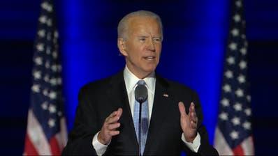Die Rede von US-Präsident Joe Biden: «Ich werde das Land einen!»