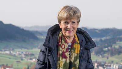 «Dass wir so vielen Menschen helfen können, erfüllt mich mit tiefer Freude.» Margrit Thalmann in ihrem Wohnort Schüpfheim. (Bild: Nadia Schärli (Schüpfheim, 7. November 2020))