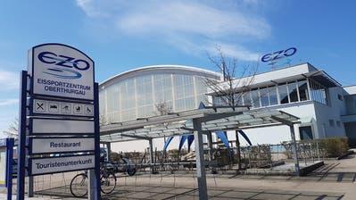 Das Eissportzentrum in Romanshorn leidet unter den Massnahmen zur Bekämpfung des Coronavirus. (Bild: PD (7. Januar 2020))