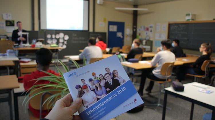Besondere Lösung wegen Corona: Ein Booklet bietet die Alternative zur Lehrstellenmesse