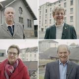 Unterstützer: NR Christian Lohr, NR Verena Herzog, NR Edith Graf-Litscher, NR Kurt Egger und SR Brigitte Häberli-Koller. (Bild: PD)