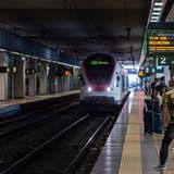 Die SBB behält ein reduziertes Angebot nach Italien bei. Noch keine Einigung gibt es bei den Regionalzügen. (Keystone)