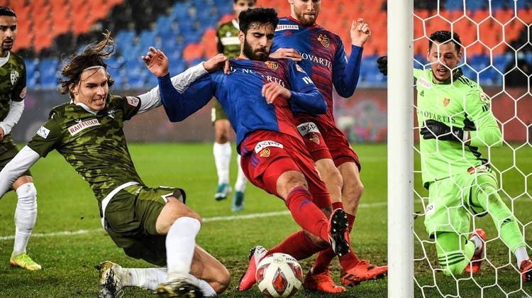 Spektakel-Spiel mit gutem Ausgang: Der FC Basel schlägt Sion mit 4:2