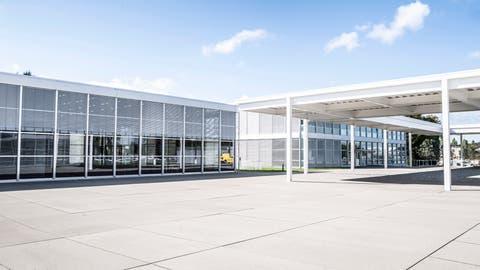Das frisch sanierte Areal der Schulanlage Auen in Frauenfeld. (Bild: PD)