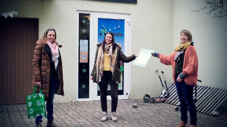 KinderOase Gerlafingen erhält Label von Fourchette verte-Ama terra
