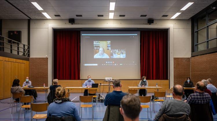 Aus der Quarantäne: Gemeindepräsident wird als Referent via Skype zugeschaltet