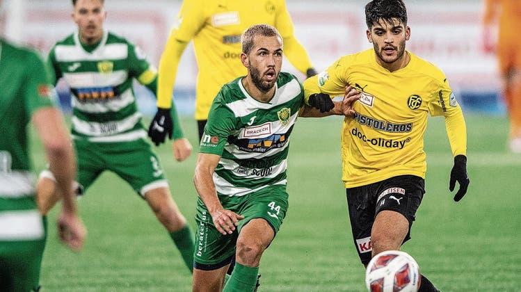 1:1 gegen Schaffhausen: Die Krienser Fussballer können einfach nicht mehr siegen