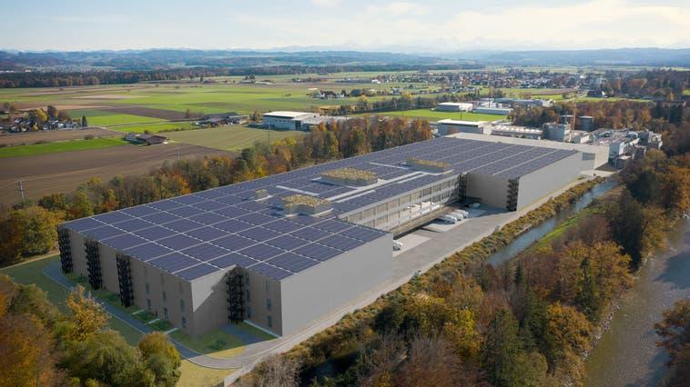 Neues Betriebsgebäude geplant: Das Vorhaben von Digitec Galaxus AG schafft rund 450 Arbeitsplätze