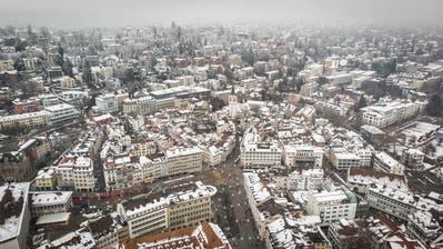 St.Gallen wächst und wächst. Und hat noch immer Potenzial. (Bild: Ralph Ribi)