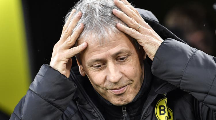 Lucien Favre: Nach knapp zweieinhalb Jahren in Dortmund entlassen. (Martin Meissner / AP)