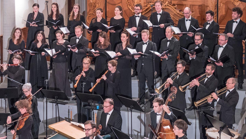 Da durften sie noch live spielen: Die Bach-Stiftung eo einer Aufführung des Weihnachtsoratoriums im Dezember 2017. Jetzt ist gibt es die CD mit live recordings entstanden. (Bild: Hanspeter Schiess)