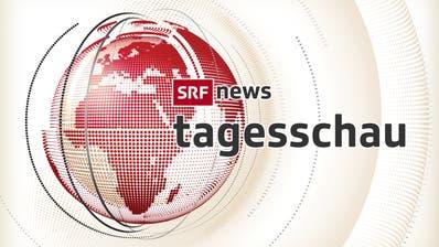 Das neue Design der «Tagesschau» von SRF: Ähnlich werden ab Montag auch die weiteren Newssendungen daherkommen. (HO)