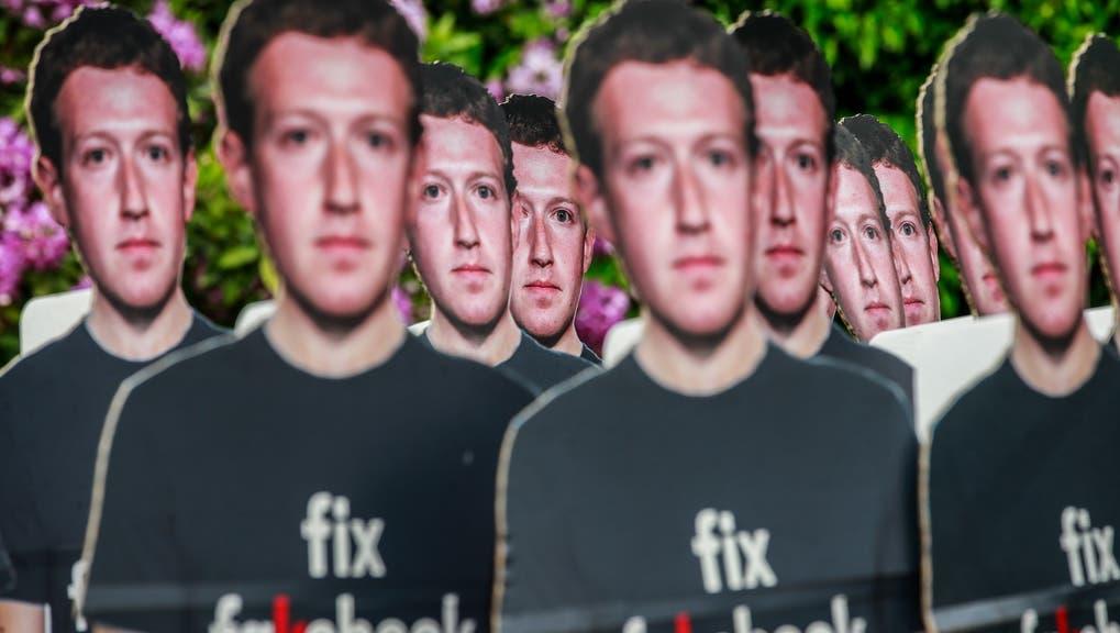 Selbstregulierung funktioniert nur begrenzt: Facebook-Chef Mark Zuckerberg steht schon länger in der Kritik. (Key)