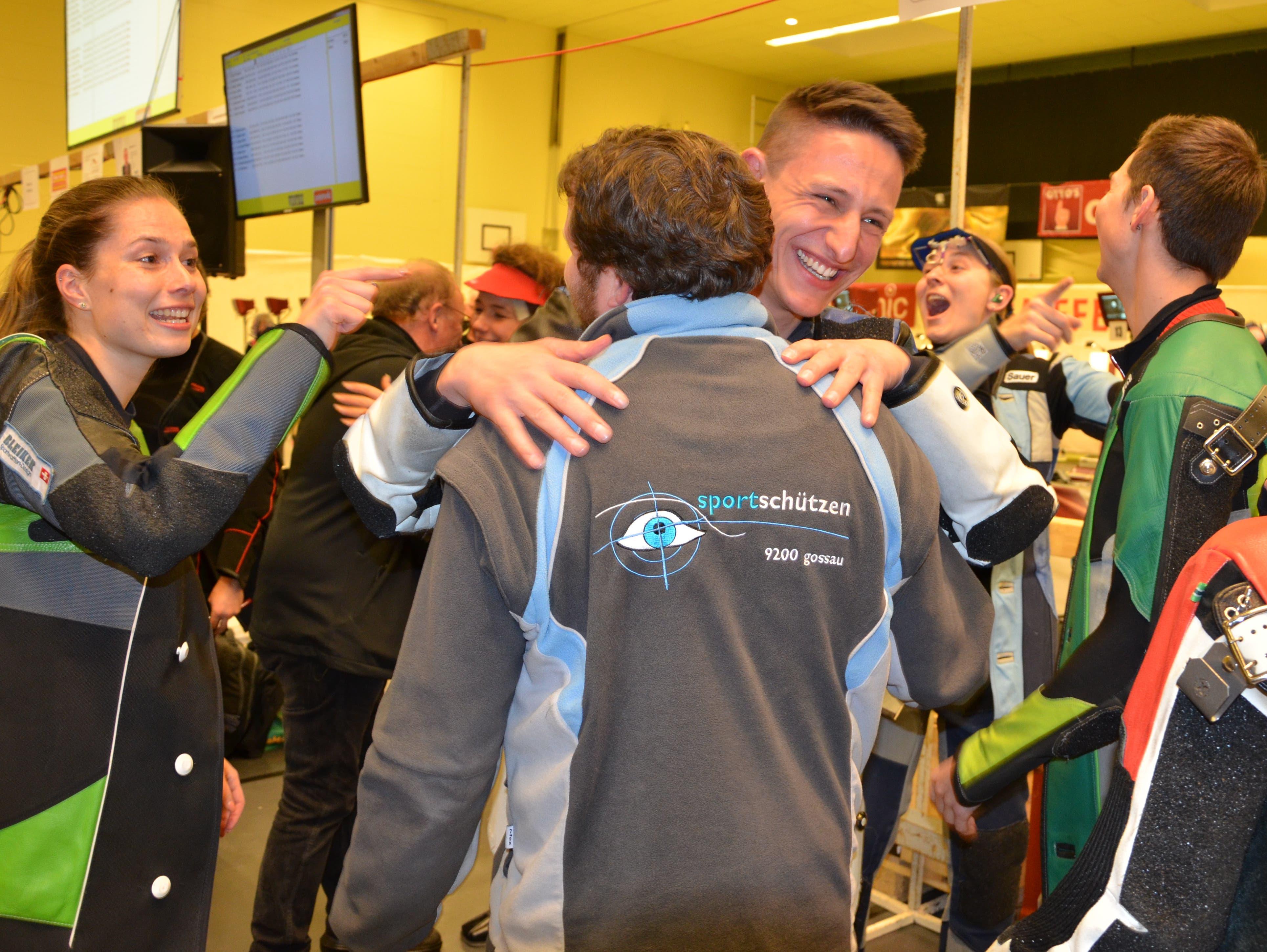 8. Februar: Schütze Christoph Dürr wird Schweizer Mannschaftsmeister mit Gossau.