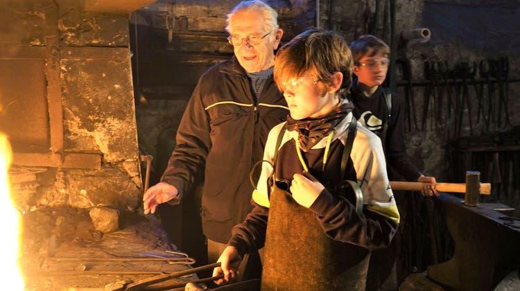Ernst Meier ist grosszügiger Kohle-Lieferant für die Hammerschmitte